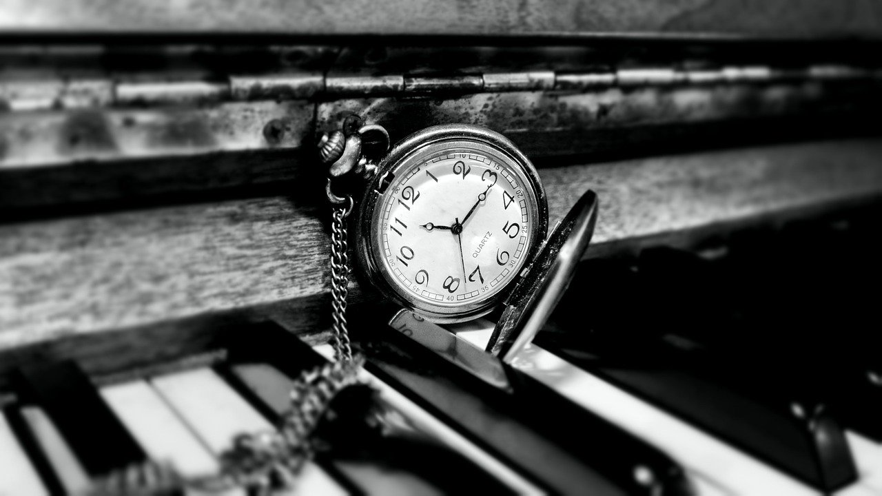finding the time piano frustration