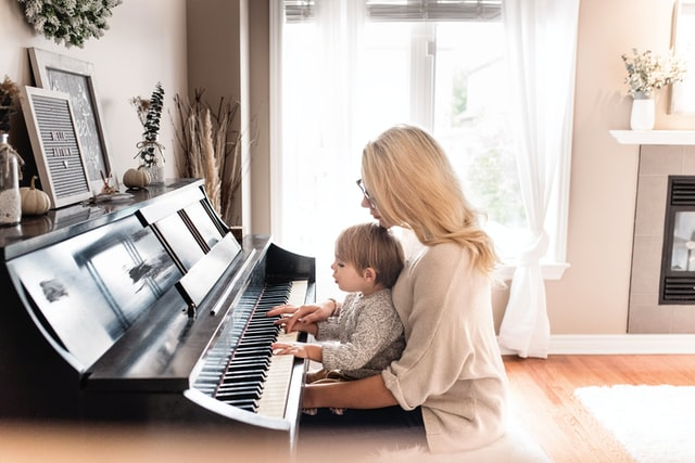 best instrument for kids - piano